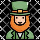 Leprechaun Saint Patricks Day Patrick Icon
