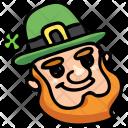 Leprechaun Shamrock Clover Icon