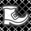 Leprechaun Boot Saint Icon