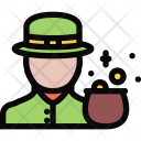 Leprechaun Myth Legend Icon