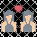 Lesbian Love Loving Icon