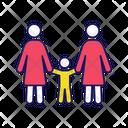 Lesbian Family Icon
