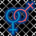 Lesbian Gender Sign Female Gender Sign Gender Symbol Icon