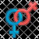 Lesbian Gender Sign Icon