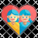 Lesbian Relationship Icon