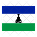 Lesotho Flag Flags Icon