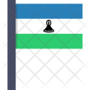 Lesotho National Country Icon