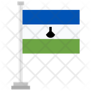 Lesotho Country National Icon