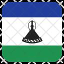 Lesotho Flag Icon