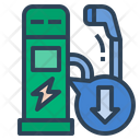 Less Charging Station Charging Station Ev Charging Icon