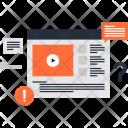 Lesson Tutorial Web Icon
