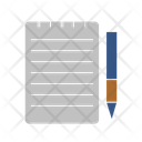 Lesson Notes Note Notebook Icon