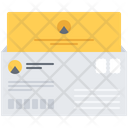 Letter Envelope Design Icon
