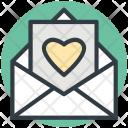 Letter Love Valentine Icon
