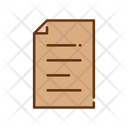 Letter File Text File Icon