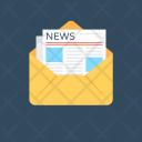Letter Newspaper Newsletter Icon