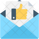 Letter Thumbs Up Icon