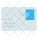 Letter Postcard Stamp Icon