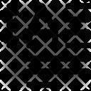 Letter Resize Left Icon