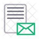 Message Sheet Email Icon