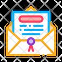 Letter Envelope Seal Icon