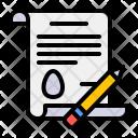 Letter Invitation Easter Icon