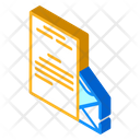 Review Letter Mail Icon