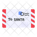 Letter Santa Claus Mail Icon