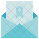 Charity Donation Letter Icon