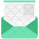 Letter Mail Open Icon