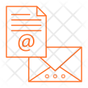 File Records Mail Icon