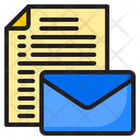 Letter File Mail Icon