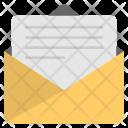 Letter Open Correspondence Icon