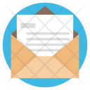 Letter Document Mail Icon