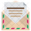 Letter Paper Document Icon
