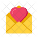 Letter Love Mail Love Message Icon