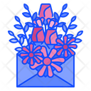 Letter Flower Floral Icon