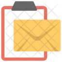 Letter Application Mail Icon