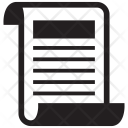 Letter Write Sheet Icon