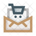 Shopping Mail Shopping Email Letter Icon