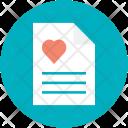 Letter Love Proposse Icon