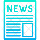 News News Paper News Page Icon