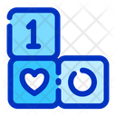 Block Newborn Kid Icon