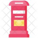 Letter Box Post Box Letter Booth Icon