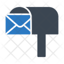 Letterbox Postoffice Email Icon