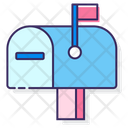 Mmailboxmailbox Letter Box Post Box Icon