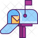 Letter Box Mail Post Box Icon