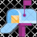 Letter Box Mail Post Box Icon