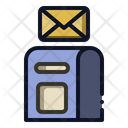 Letter Box Mailbox Post Icon