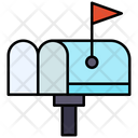 Letter Box Mail Drop Box Mail Box Icon